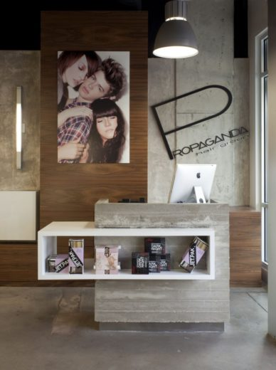 Contemporary-Style Hair Salon