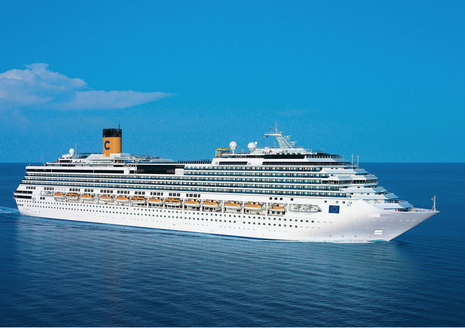 Costa Favolosa - luxury cruise ships