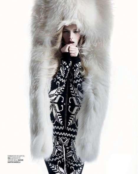 Furry Cocoon Fashion