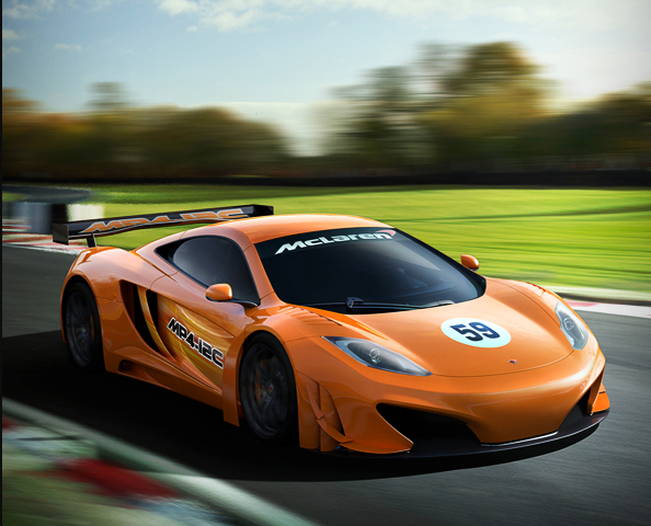 Get Ready for the MP4-12C GT3 from McLaren