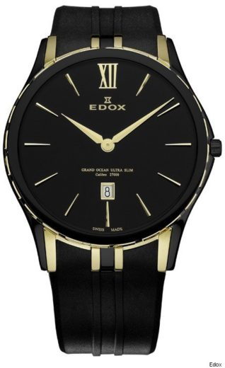Grand Ocean Ultra Slim Timepiece from Edox