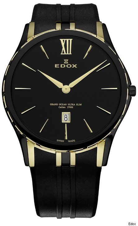 Grand Ocean Ultra Slim Timepiece from Edox