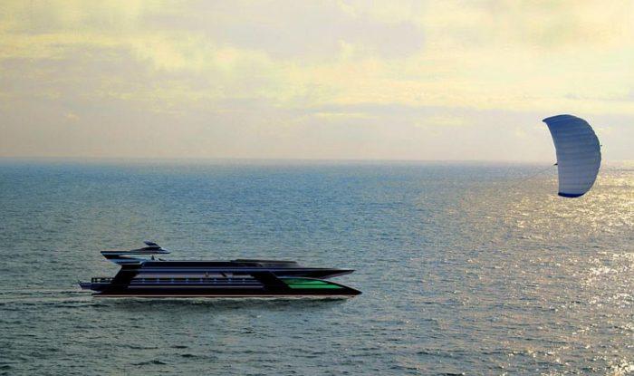 Green Superyacht from Sauter Zero Carbon Design