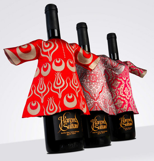 Harem Sultan Wine Packaging 2