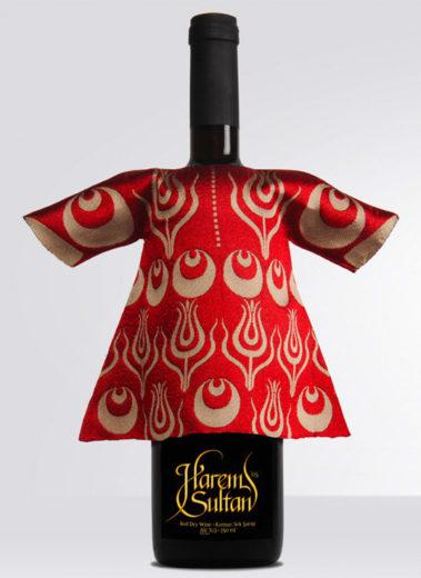 Harem Sultan Wine Packaging