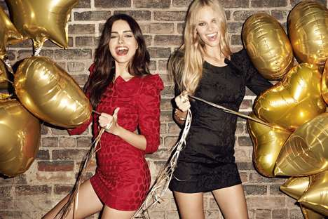 Hipster Party Girl Lookbooks