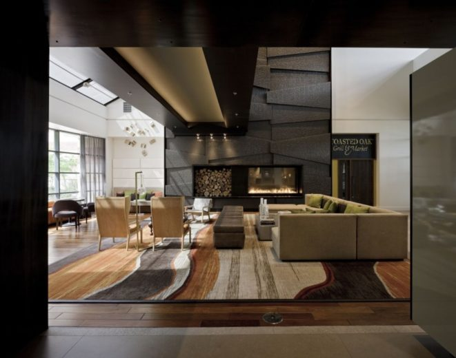 Hotel Lobby Interior by D-ash Design