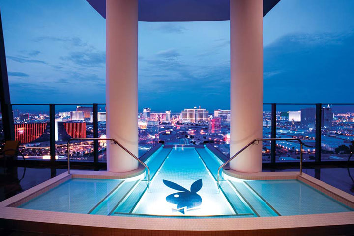 Hugh Hefner Sky Villa at Palms Casino & Resort