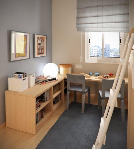 Interior Design for Children's Rooms by Sergi Mengot 8