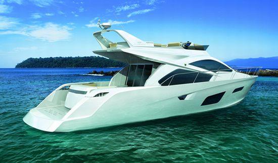 Intermarine 55 Luxury Yacht