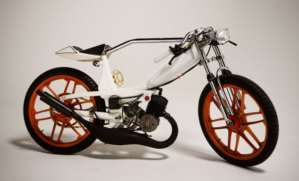 Jarrett Petty's Motobecane 40T Moped 1