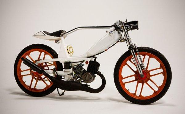 Jarrett Petty's Motobecane 40T Moped