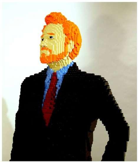 Life-Sized LEGO Statues 1