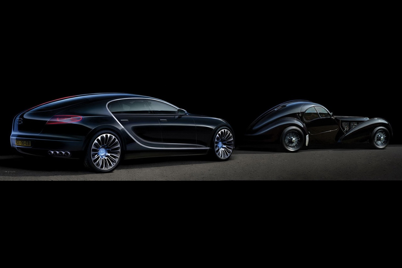The Bugatti 16 C Galibier Seen Outdoors 13