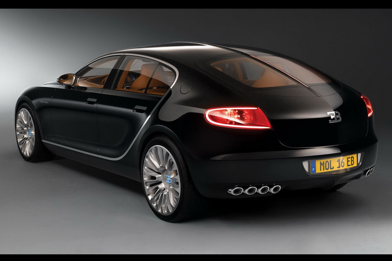 The Bugatti 16 C Galibier Seen Outdoors 2