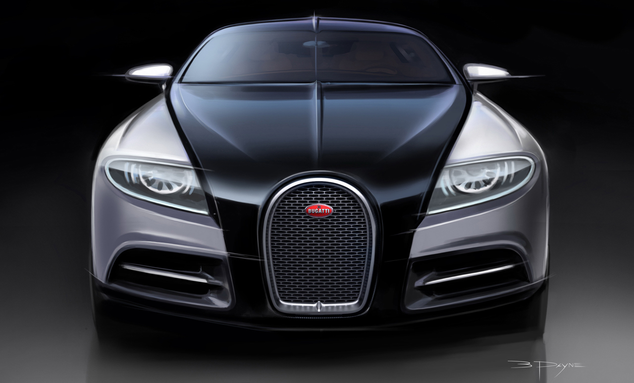 The Bugatti 16 C Galibier Seen Outdoors 24