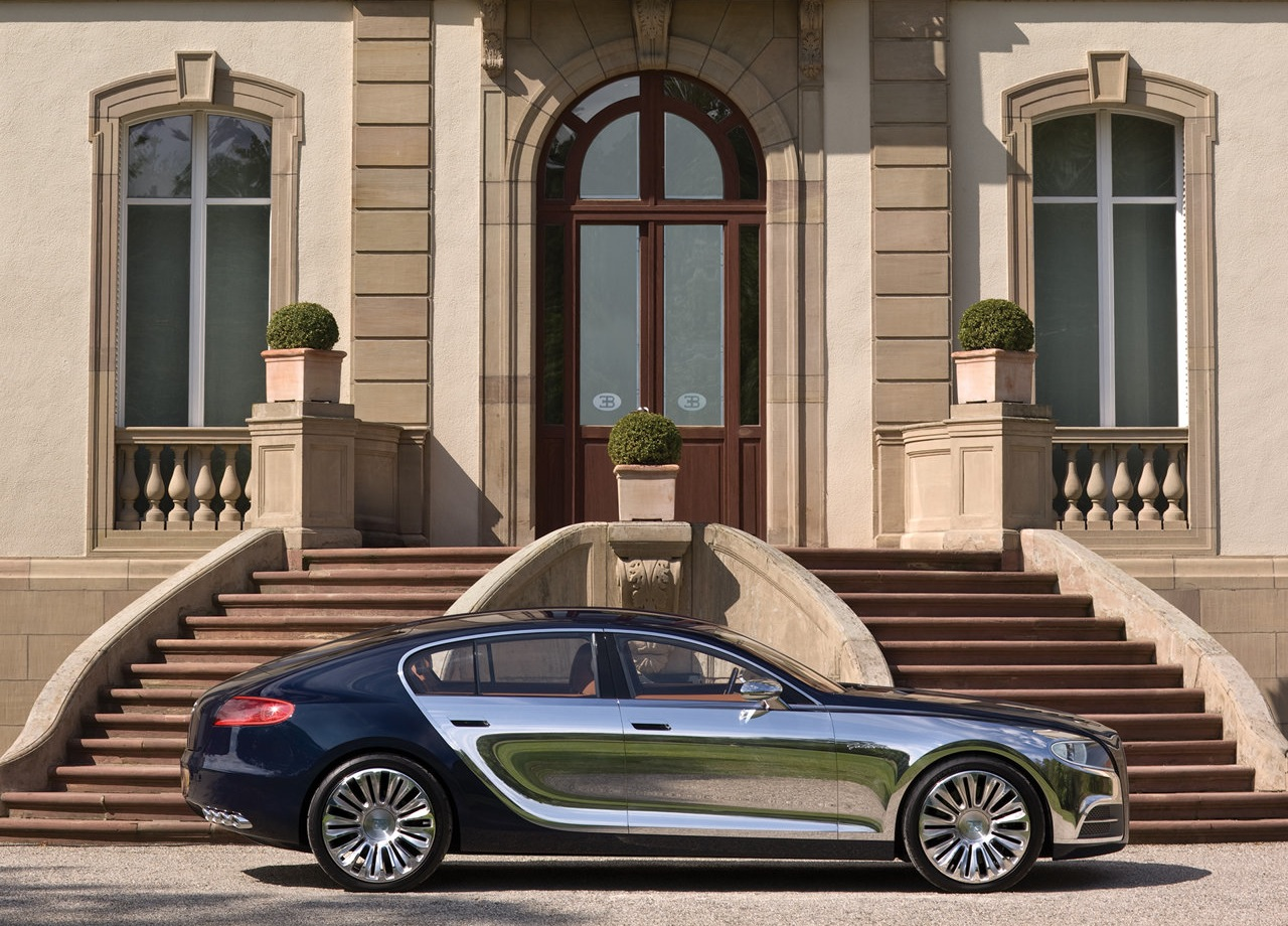 The Bugatti 16 C Galibier Seen Outdoors 32