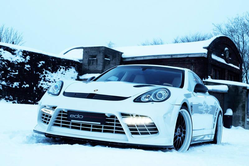 Porsche Panamera Turbo 'Moby Dick' by Edo 1