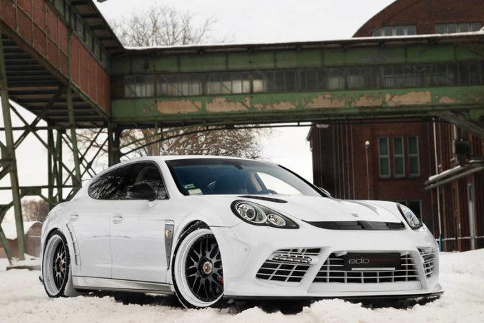 Porsche Panamera Turbo 'Moby Dick' by Edo 12