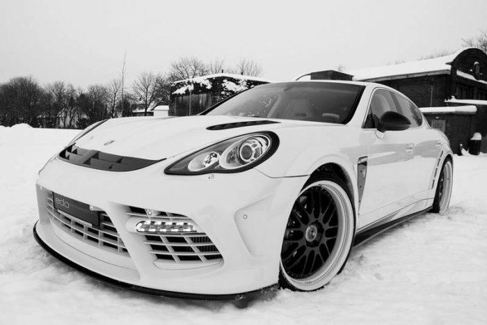 Porsche Panamera Turbo 'Moby Dick' by Edo 9