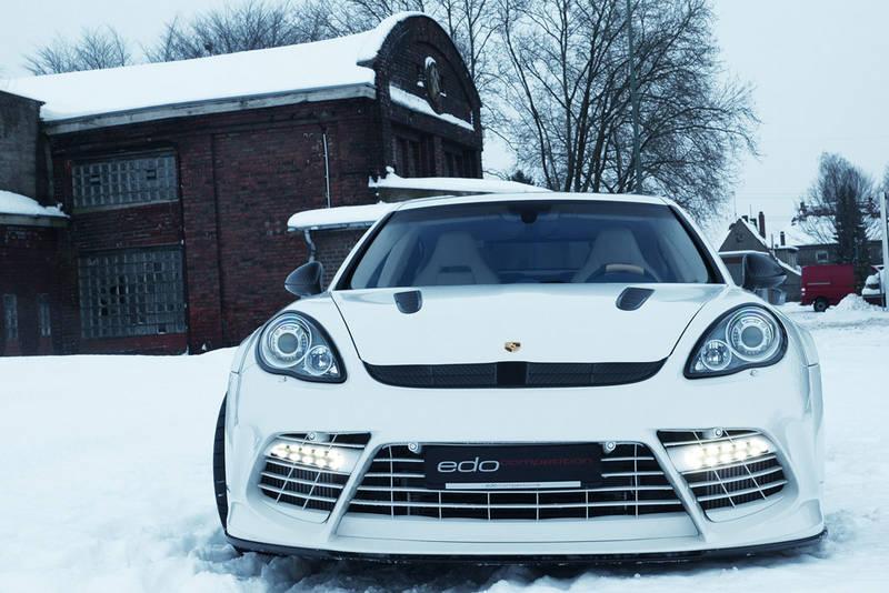 Porsche Panamera Turbo 'Moby Dick' by Edo