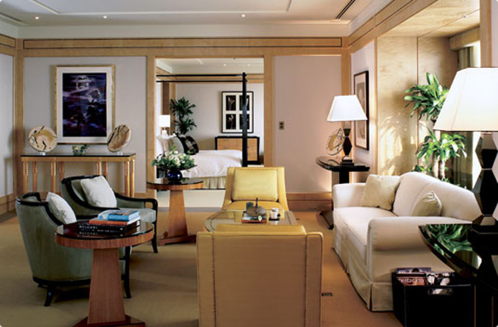 Presidential Suite at Ritz Carlton