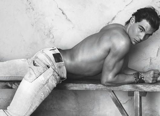 Rafael Nadal Posing For Armani