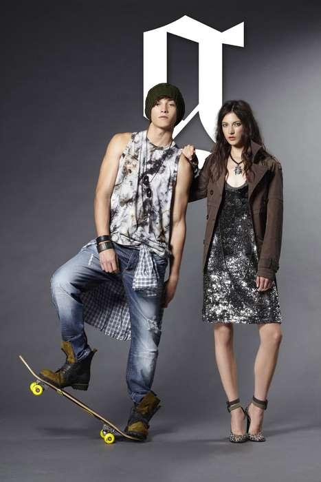 Skateboard Fashion for Couples