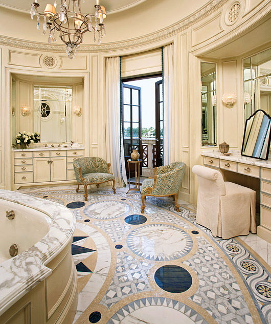 Spa Inspired Bathrooms - Luxury Magazine 2