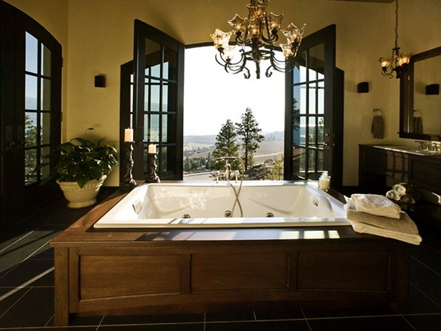 Spa Inspired Bathrooms - Luxury Magazine 3