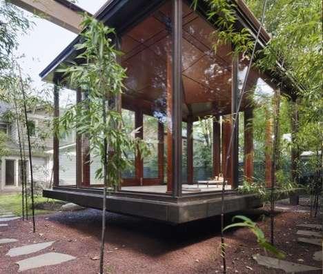 Suspended Backyard Sanctuaries