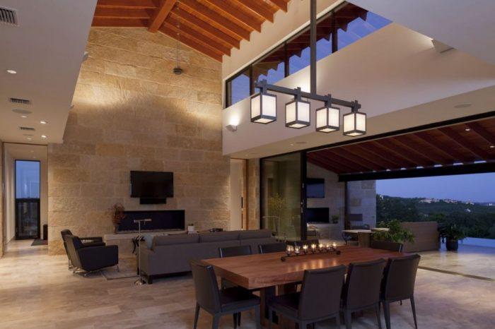 Terrace Mountain House in Texas 8