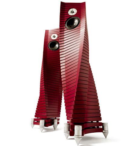 The Curvy Teti Speakers