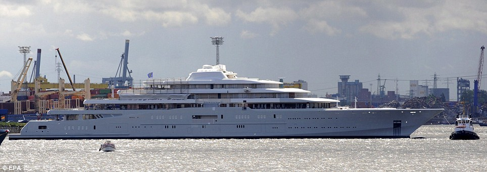 The Eclipse Is Ready to Take Abramovich Out at Sea