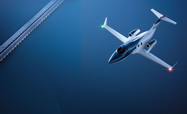 The Very Efficient HondaJet 9
