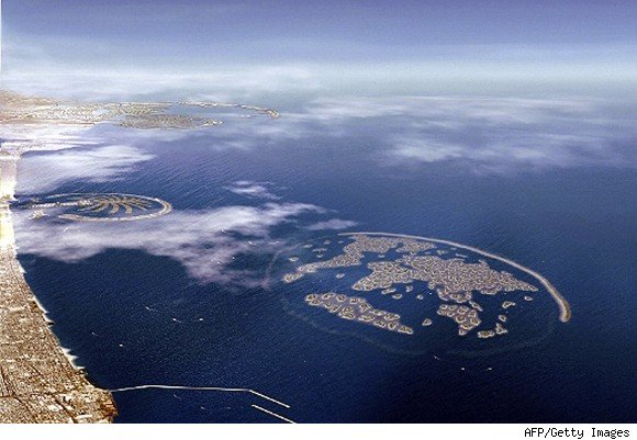 The World Archipelago in Dubai, a Preview of the Armageddon