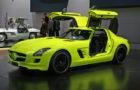 The Zero-Emissions Mercedes SLS AMG E-Cell 3