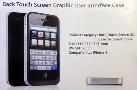 Transparent Touchscreen Cases