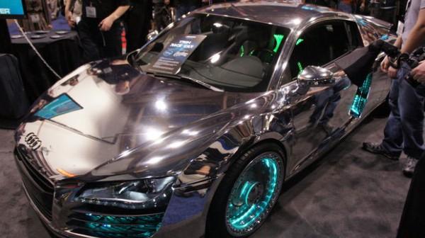Tron-Inspired Audi R8 3