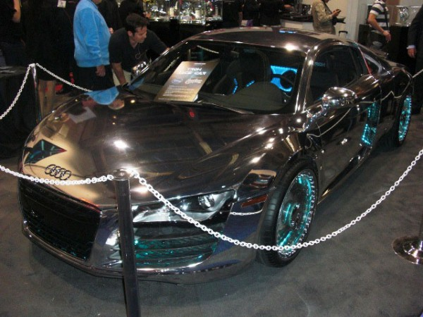 Tron-Inspired Audi R8 6