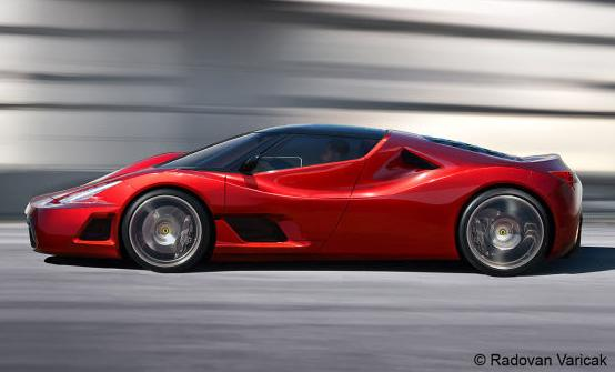 World's Most Expensive Cars - Ferrari F70 3