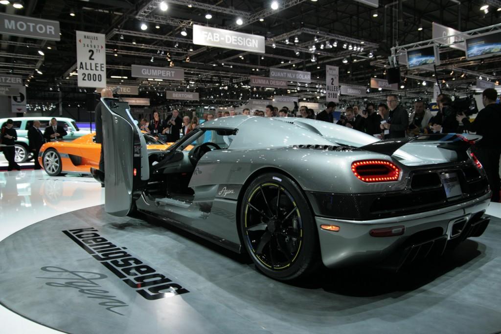 World's Most Expensive Cars - Koenigsegg Agera 8