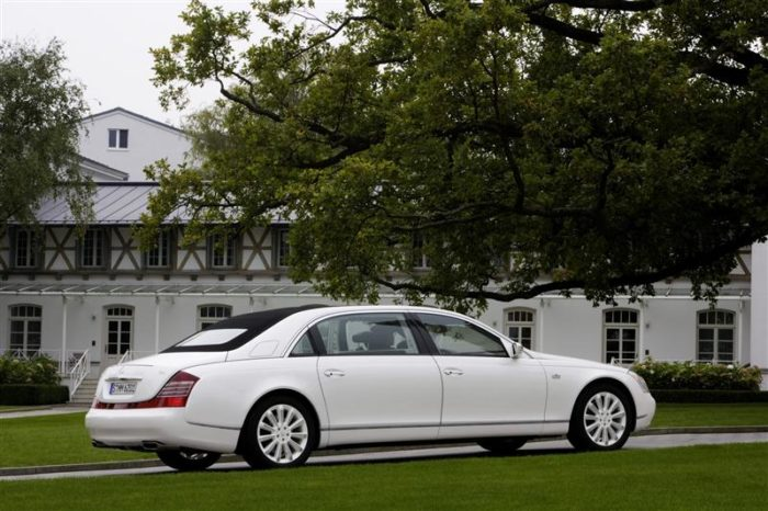 World's Most Expensive Cars - Maybach Landaulet 3