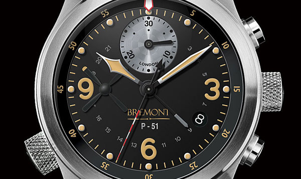 Bremont Mustang P-51 Watch with Original Plane Parts