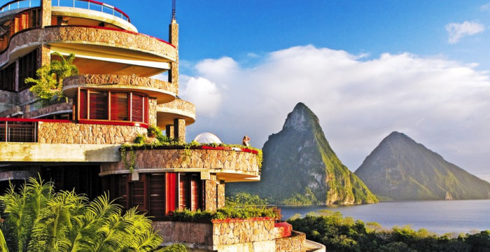 Choose Jade Mountain for a Romantic Getaway
