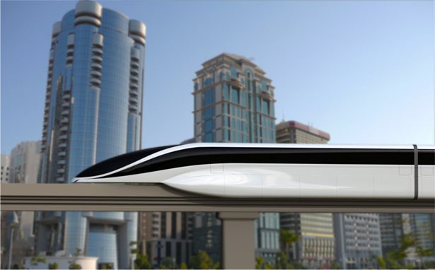 EOL Maglev Levitating Mass Transit Luxury Train (9)
