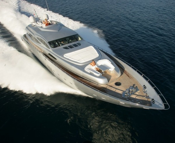 Latest Pershing 115' Superyacht