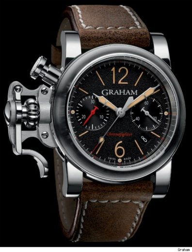 The New Graham Chronofighter Fortress Watch