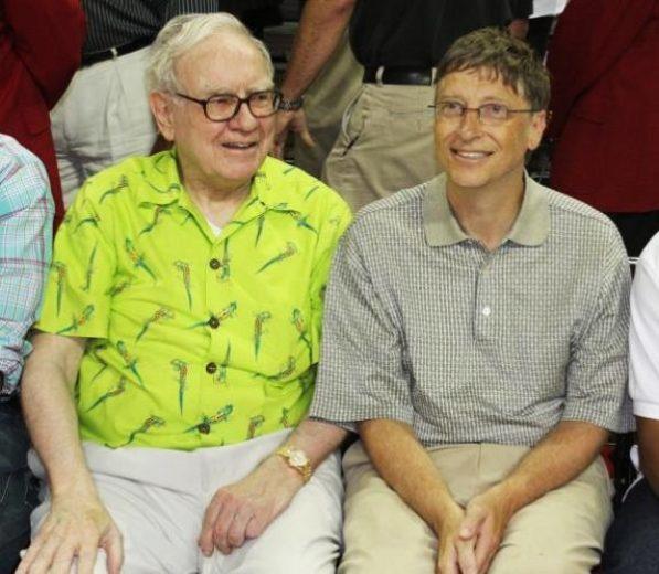 Warren Buffett and Bill Gates With