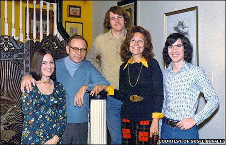 Warren Buffett and his wife began living apart in 1977